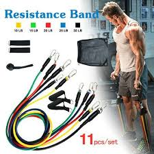 <b>Resistance Bands Set</b> Pull Rope Gym Home Fitness Workout ...