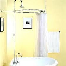 clawfoot bathtub shower kit bathtub shower bathtub shower kit tub showers enclosures classics surround kits clawfoot bathtub shower