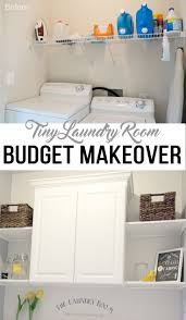 Easy Laundry Room Makeovers Easy Laundry Room Makeover Laundry Rooms And Laundry