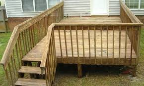 deck railing pictures small deck railing plans diy wood deck railing ideas