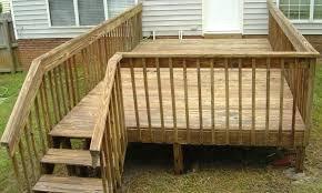 deck railing pictures small deck railing plans diy wood deck railing ideas