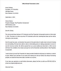 Rental Letter Template 12 Termination Letter Template