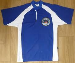 bath rugby embroidered modern fabric rugby shirt new size small royal white eur 17 11 pic ie