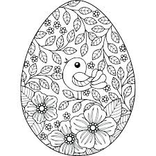 Printable Pictures Of Easter Eggs To Color Coloring Pages Egg Best