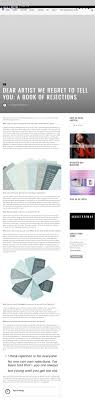 dear artist austere magazine dear artist book dana stirling
