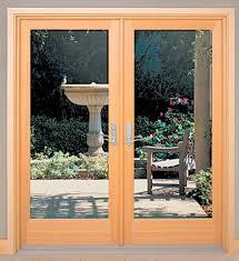 patio doors swingingfrench