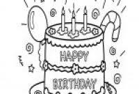 Kleurplaten Gelukkige Verjaardag Oma Klupaatswebsite