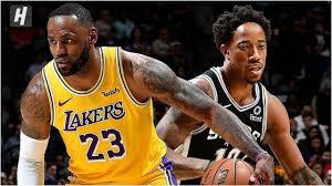 Los Angeles Lakers vs San Antonio Spurs - Full Game Highlights | November  25, 20... in 2020 | Lakers vs, San antonio spurs, Los angeles lakers