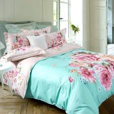 pink king size bedding mint green pink and beige inspired oriental style flower print country chic cotton full queen size bedding sets pink king size quilt