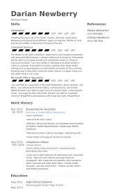Busser/Server Assistant Resume samples