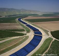 Solar canals create renewable energy and save water at the same time