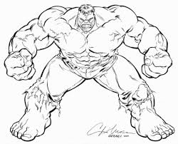 incredible hulk coloring pages color and bertmilne me