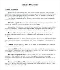Informal Proposal Delectable Informal Proposal Format Template Informal Proposal Letter Format