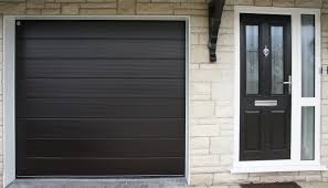 black garage doorGarage Doors Kendal  Lakes Doors