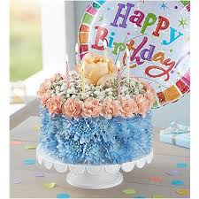 1 800 Flowers Birthday Wishes Flower Cake Coastal The Petal