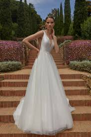 Amanda is a beautifully <b>classic wedding</b> dress, made from <b>high</b> ...