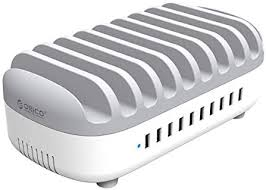 <b>ORICO 10</b> Port USB Desktop Charging Station Multiple Devices ...