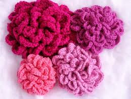 Crochet Flowers Patterns Mesmerizing Patterns For Crochet Flowers Crochet And Knit