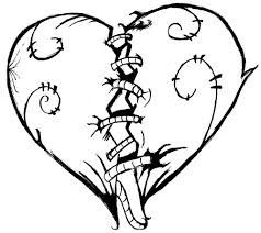 Small Picture Heart coloring pages broken heart ColoringStar