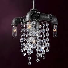 luxury crystal mini pendant light