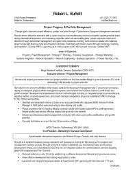 Beautiful Program Management Resume Bullets Resume Ideas
