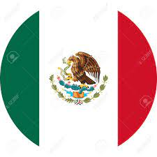 Mexican Flag Round Icon Or Mexico Flag Sticker Vector Illustration..  Royalty Free Cliparts, Vectors, And Stock Illustration. Image 132956148.