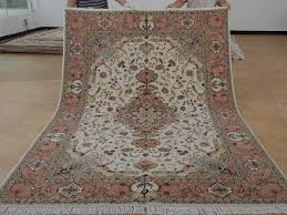 6 x 9 hand knotted brand new wool and silk sino persian tabriz oriental area rug 12980685 goodluck rugs