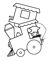 Simple Coloring Pages | Coloring Kids