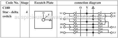 20a star delta switch,rotary switch,cam switch (c180) buy star Rotary Cam Switch Wiring Diagram 20a star delta switch, rotary switch, cam switch (c180) salzer rotary cam switch wiring diagram