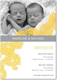 twin birth announcements photo cards twins announcement cards featured twins birth announcement cards