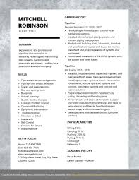 Example Of Construction Resume Pipefitter Resume Example
