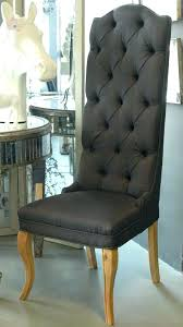 high back upholstered dining chairs. High Back Wing Dining Chair Upholstered Chairs Best Choice Of Room B