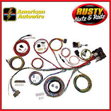 american autowire highway complete wiring harness kit  american autowire power plus 13 complete wiring harness kit
