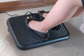 the toasty toes ergonomic footrest consumes a fraction of the energy of a space heater and is much safer it is ideal for under your desk