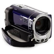 sony camcorder. sony handycam sx44 blue 4gb flash memory camcorder with 60x optical zoom