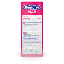 Amazon.com: Children's Benadryl Dye-Free Allergy Liquid with ...