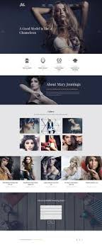 Artist Website Templates Delectable Nice Template From WordPress Template 48 Photographer CV