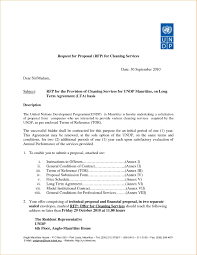 Property Management Proposal Letter Template Examples Letter