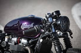 this custom triumph bobber has us in a purple daze maxim