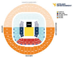 Wvu Coliseum Seating Chart An Evening With The Avett Brothers Arts Entertainment