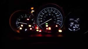 2017 Mazda 6 Dash Lights 2014 Mazda6 Gs Model Interior At Night