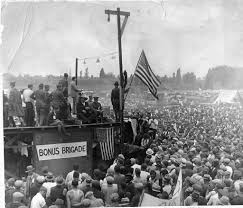 Bonus Army Bonus Army Hears Speakers 1932 The Camp Of World War I Ve Flickr
