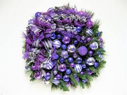 HOW TO DECORATE A CHRISTMAS TREE WITH DECO MESH  DECK THE HALLS Purple Christmas Tree Bows