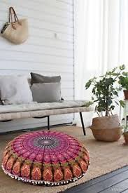 floor seating indian. Image Is Loading Pillow-Round-Floor-Seating-Cushion-Pillow-Throw-Cover- Floor Seating Indian E