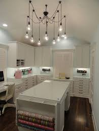 lighting craft room design.  craft collections of 50 amazing and practical craft room design ideas  inspirations to see how other people reu0026 their dream for the future craft room intended lighting pinterest