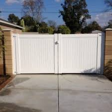 vinyl fence double gate. 15-double-gate-3 Vinyl Fence Double Gate