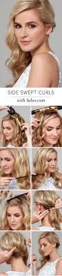Best 25+ Side swept curls ideas on Pinterest | Side swept ...