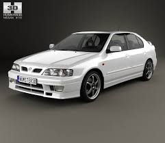 Nissan Primera GT 1997 3D model - Hum3D