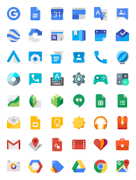 Material Design Iconography Visual Design Specification Guidelines Product Branding