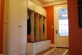 custom made mud room lockers and home office